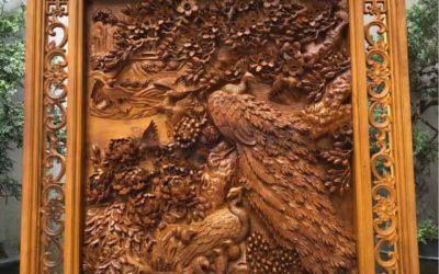 Tranh-gỗ-bách-xanh-phú-quý-mãn-đường-(4)