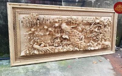 tranh phu thê viên mãn gỗ hương đá (2)