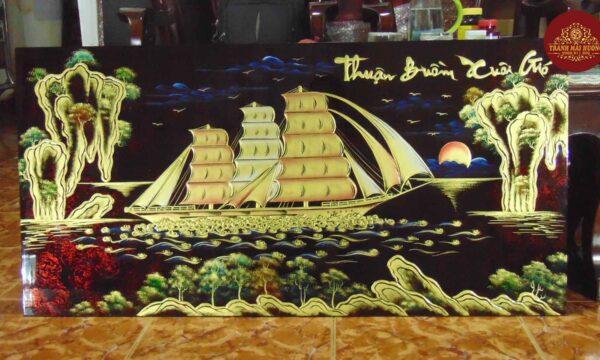 Tranh-sơn-mài-thuận-buồm-xuôi-gió-tân-gia-(3)