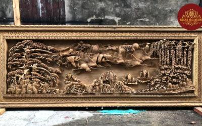 tranh gỗ sơn thủy hữu tình (9)