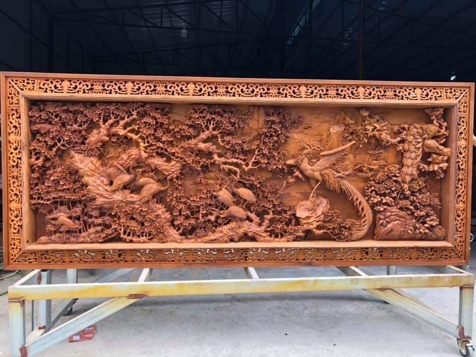 Tranh gỗ treo tường đẹp nhất năm 2021